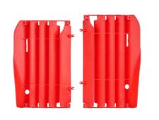 New Polisport CRF 250 R 10-13 Radiator Louvres Plastics Red Motocross